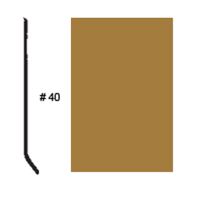 Roppe Pinnacle Plus Base #05 Brass Rubber Flooring