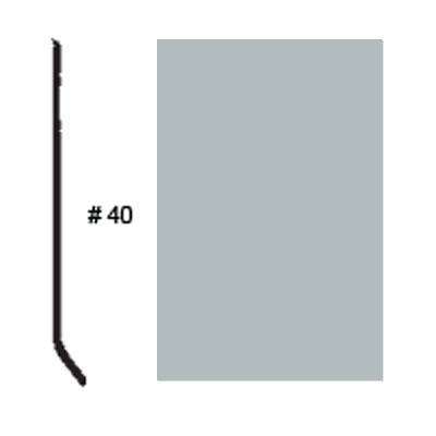 Roppe Pinnacle Plus Base #05 Platinum Rubber Flooring