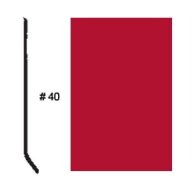 Roppe Pinnacle Plus Base #05 Red Rubber Flooring