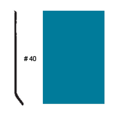 Roppe Pinnacle Plus Base #05 Tropical Blue Rubber Flooring