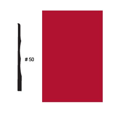 Roppe Pinnacle Plus Base #50 Red Rubber Flooring