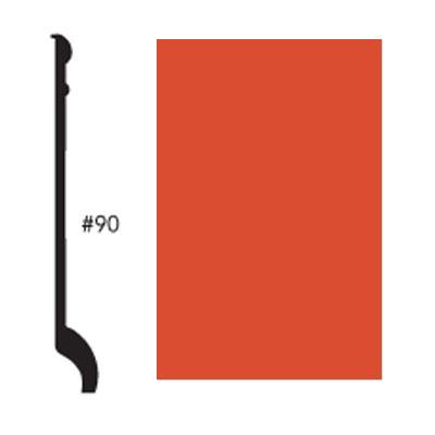 Roppe Pinnacle Plus Base #90 Mandarin Rubber Flooring