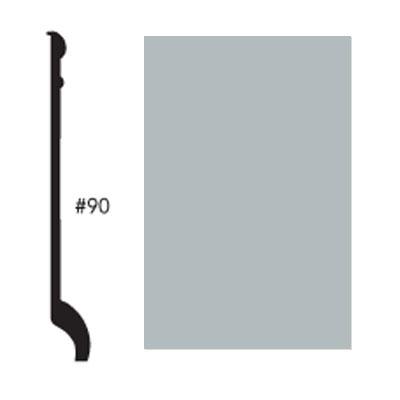 Roppe Pinnacle Plus Base #90 Platinum Rubber Flooring