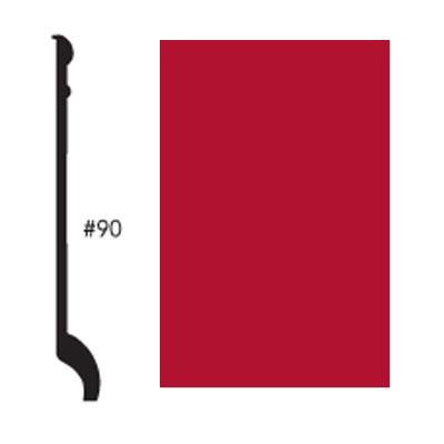 Roppe Pinnacle Plus Base #90 Red Rubber Flooring