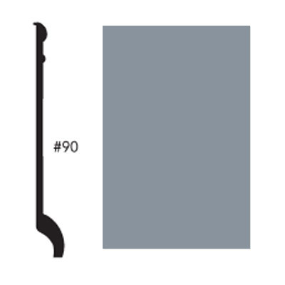 Roppe Pinnacle Plus Base #90 Steel Blue Rubber Flooring