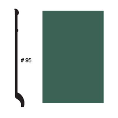 Roppe Pinnacle Plus Base #95 Forest Green Rubber Flooring