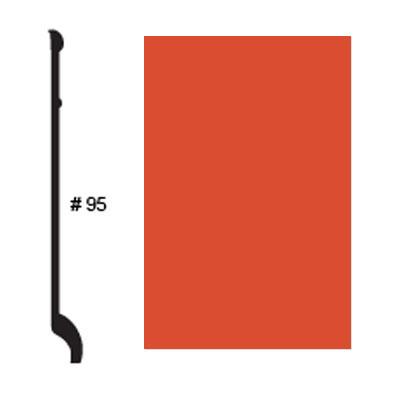 Roppe Pinnacle Plus Base #95 Mandarin Rubber Flooring