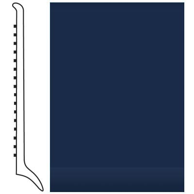 Roppe Pinnacle Rubber Wall Base 4 (Long Toe Base) Aubergine 618 Rubber Flooring