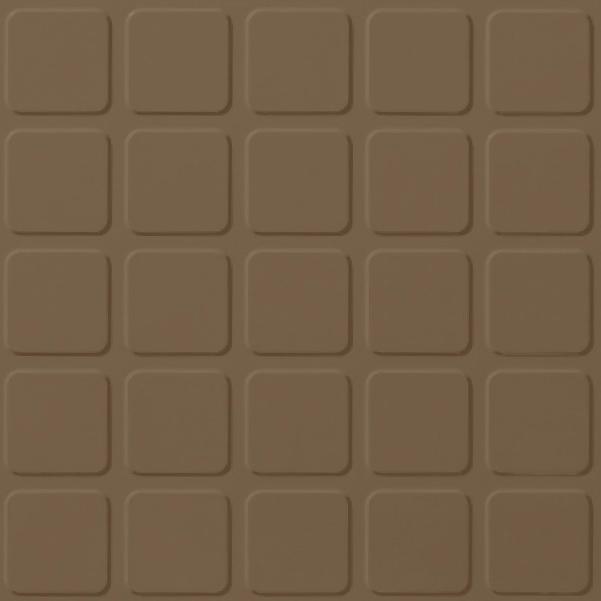 Roppe Rubber Tile 900 - Raised Square Design (994) Chameleon Rubber Flooring