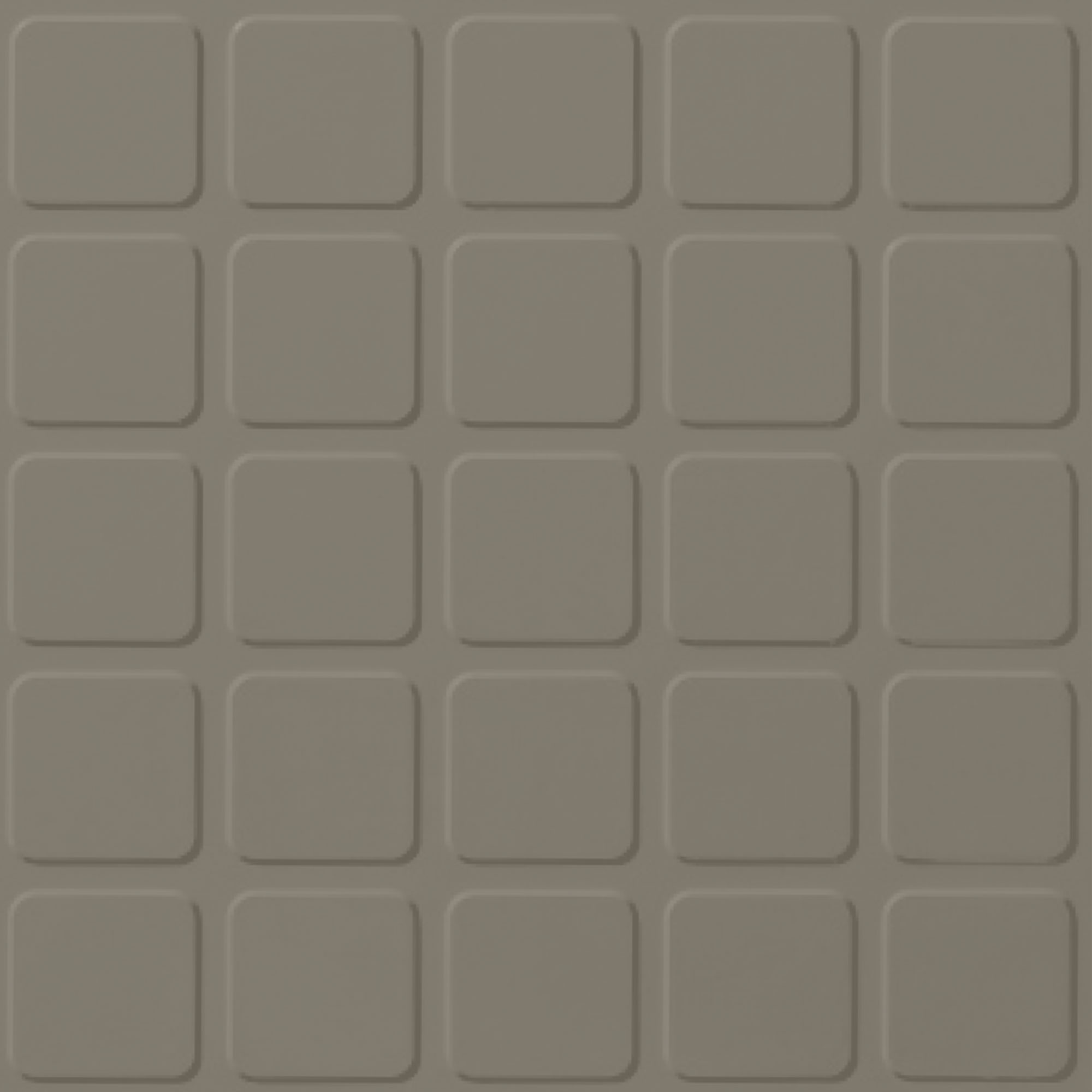Roppe Rubber Tile 900 - Raised Square Design (994) Dolphin Rubber Flooring