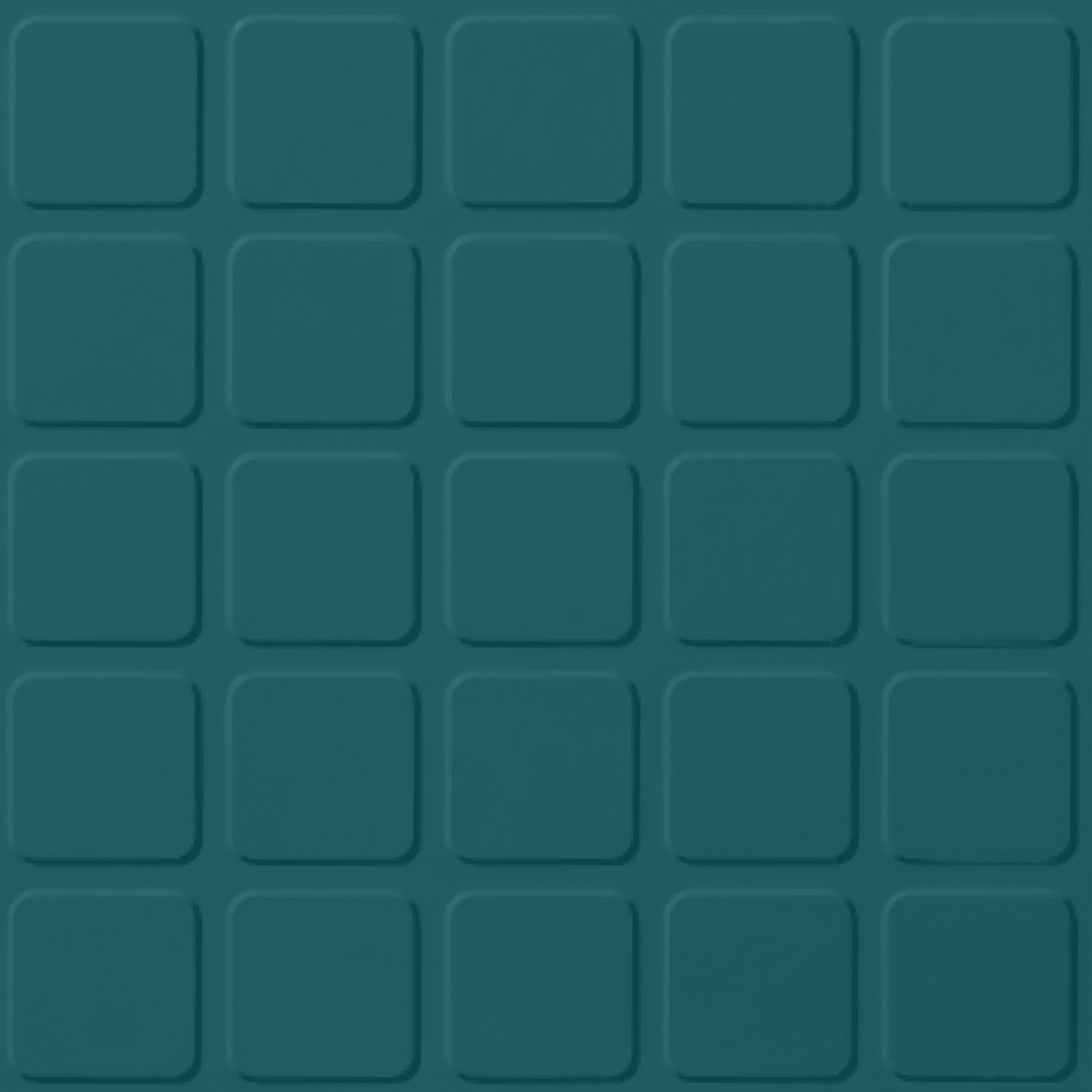 Roppe Rubber Tile 900 - Raised Square Design (994) Peacock Rubber Flooring