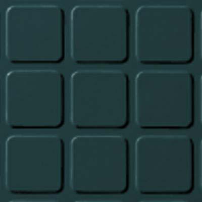 Roppe Rubber Tile 900 - Raised Square Design (994) Pine Rubber Flooring