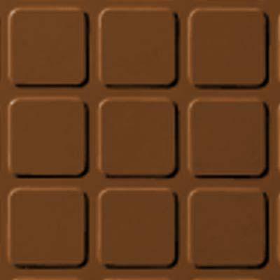 Roppe Rubber Tile 900 - Raised Square Design (994) Tan Rubber Flooring