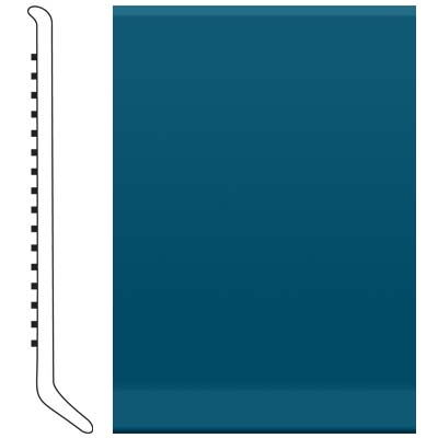 Roppe Ready Base 4 inch Blue Vinyl Flooring