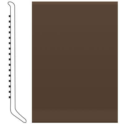 Roppe Ready Base 4 inch Light Brown Vinyl Flooring