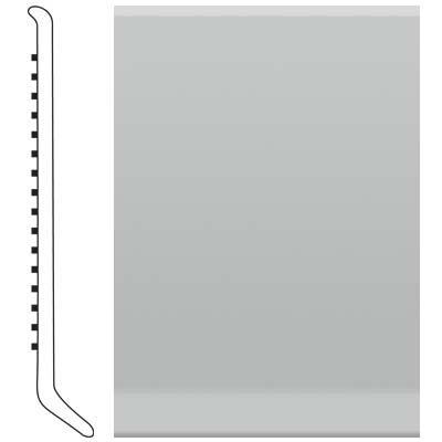 Roppe Ready Base 4 inch Light Gray Vinyl Flooring