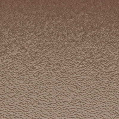 Roppe Rubber Tile 900 - Hammered Design (995) Toffee Rubber Flooring