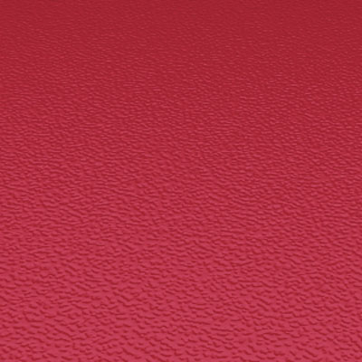 Roppe Rubber Tile 900 - Hammered Design (995) Red Rubber Flooring