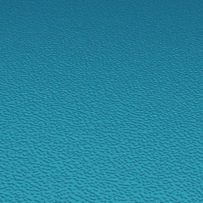 Roppe Rubber Tile 900 - Hammered Design (995) Tropical Blue Rubber Flooring