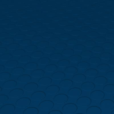 Roppe Rubber Tile 900 - Low Profile Raised Circular Design (992) Deep Navy Rubber Flooring
