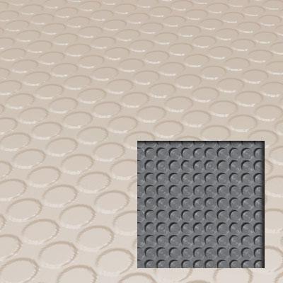 Roppe Rubber Tile 900 - Lug Back Vantage Design (LB996) Ivory Rubber Flooring