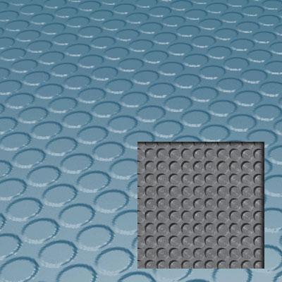Roppe Rubber Tile 900 - Lug Back Vantage Design (LB996) Salem Blue Rubber Flooring