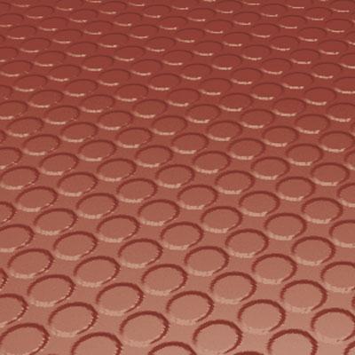 Roppe Rubber Design Treads - Vantage Raised Circular Design Brick Rubber Flooring