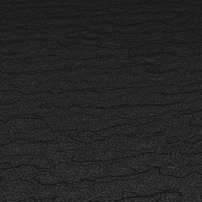 Roppe Rubber Tile 900 - Slate Design (991) Black Rubber Flooring