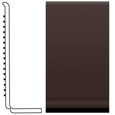 Roppe Pinnacle Rubber Sanitary Base 4 Brown Rubber Flooring