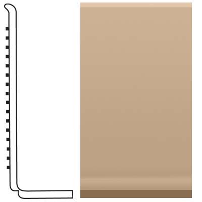 Roppe Pinnacle Rubber Sanitary Base 4 Buckskin Rubber Flooring