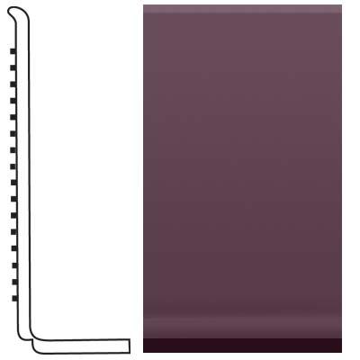 Roppe Pinnacle Rubber Sanitary Base 4 Burgundy Rubber Flooring