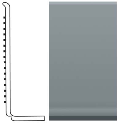 Roppe Pinnacle Rubber Sanitary Base 4 Dark Gray Rubber Flooring