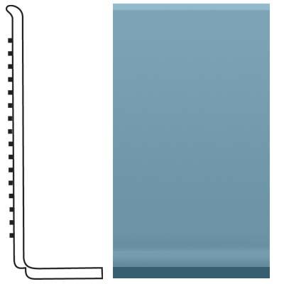 Roppe Pinnacle Rubber Sanitary Base 4 Salem Blue Rubber Flooring