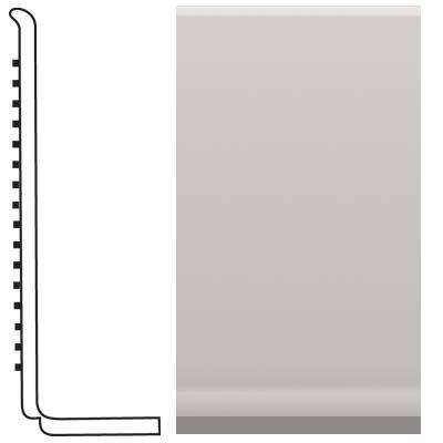 Roppe Pinnacle Rubber Sanitary Base 4 Smoke Rubber Flooring