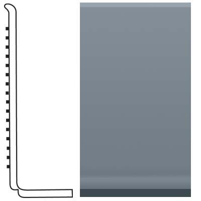 Roppe Pinnacle Rubber Sanitary Base 4 Steel Blue Rubber Flooring