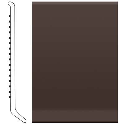 Roppe 700 Series Rubber Toe Base 6 Brown Rubber Flooring