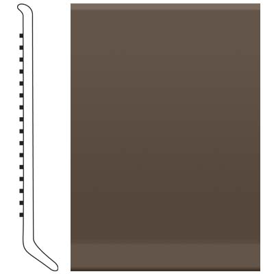 Roppe 700 Series Rubber Toe Base 4 Light Brown Rubber Flooring