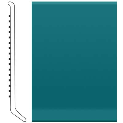 Roppe 700 Series Rubber Toe Base 4 Peacock Rubber Flooring