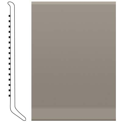 Roppe 700 Series Rubber Toe Base 6 Pewter Rubber Flooring