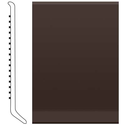 Roppe Pinnacle Rubber Cove Base 6 Brown Rubber Flooring