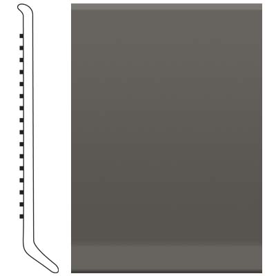 Roppe Pinnacle Rubber Cove Base 3-1/2 Burnt Umber Rubber Flooring