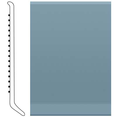 Roppe Pinnacle Rubber Cove Base 5-1/2 Colonial Blue Rubber Flooring