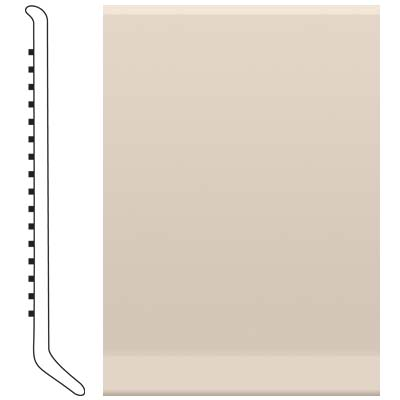 Roppe Pinnacle Rubber Cove Base 3 Ivory Rubber Flooring