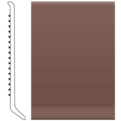 Roppe Pinnacle Rubber Cove Base 6 Russet Rubber Flooring