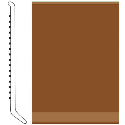 Roppe Pinnacle Rubber Cove Base 2-1/2 Tan Rubber Flooring