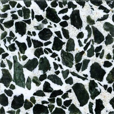 Fritztile Classic Terrazzo 3/16 Evergreen Tile & Stone