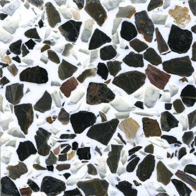 Fritztile Recycled Glass 3/16 Almond Tile & Stone