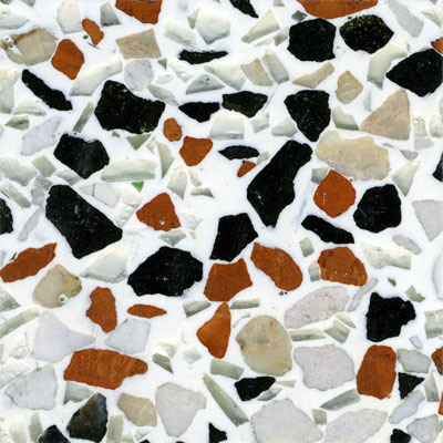 Fritztile Recycled Glass 3/16 Bauhaus Tile & Stone