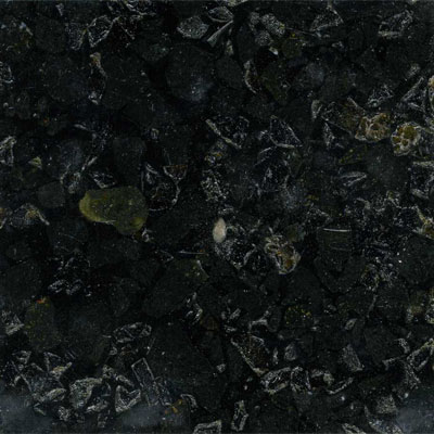 Fritztile Recycled Glass 3/16 Dark Ice Tile & Stone