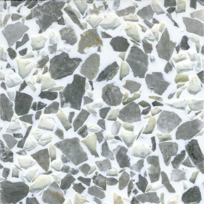 Fritztile Recycled Glass 3/16 Mist Tile & Stone